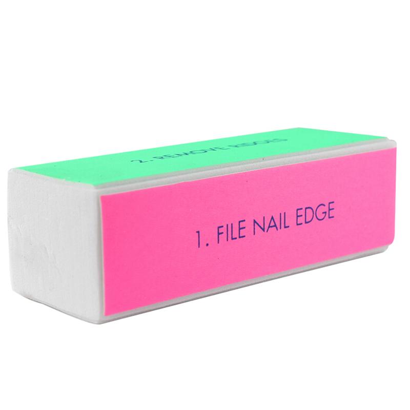 5 Stu00fcck Nagelpflege Schwamm Nagelfeile Schleifblock Polieren Buffer Maniku00fcre | EBay