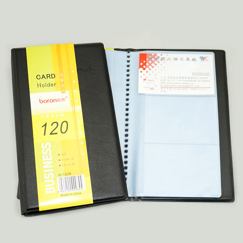 Book Cover Business Cards ~ Business name card holder book cover case pouch folder
