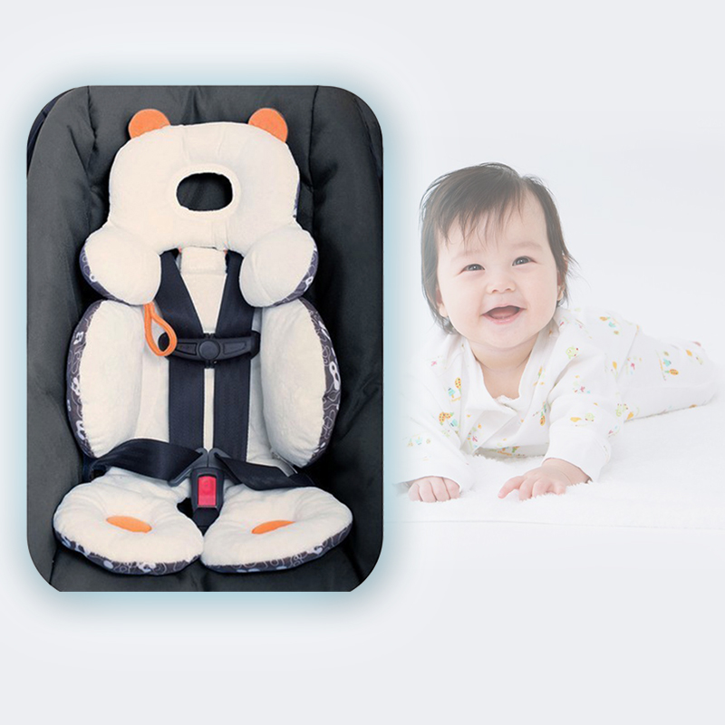 total head and body support baby infant pram stroller car seat cushion ebay. Black Bedroom Furniture Sets. Home Design Ideas