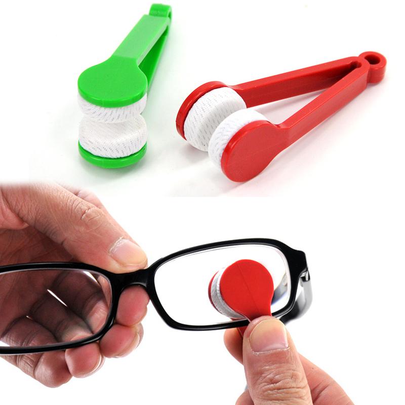 new mini glasses cleaner brush sunglasses eyeglass