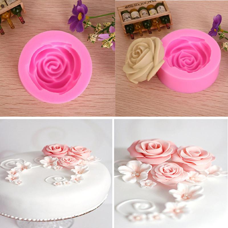 3d rosen blumen form werkzeuge diy fondant kuchen sugarcraft startseite cutter ebay. Black Bedroom Furniture Sets. Home Design Ideas