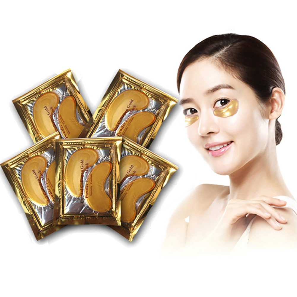 15 Pairs Collagen Crystal Eye Mask Eyelid Care Patch Pad