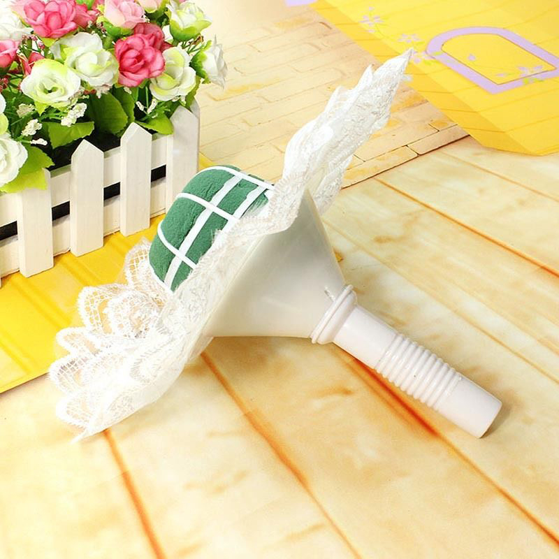 Wedding Bouquet Photo Holder : Foam bouquet holder handle bridal floral wedding flower