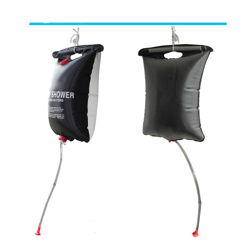 solardusche dusche 20 liter camp shower wassersack outdoor camping trekking neu ebay. Black Bedroom Furniture Sets. Home Design Ideas