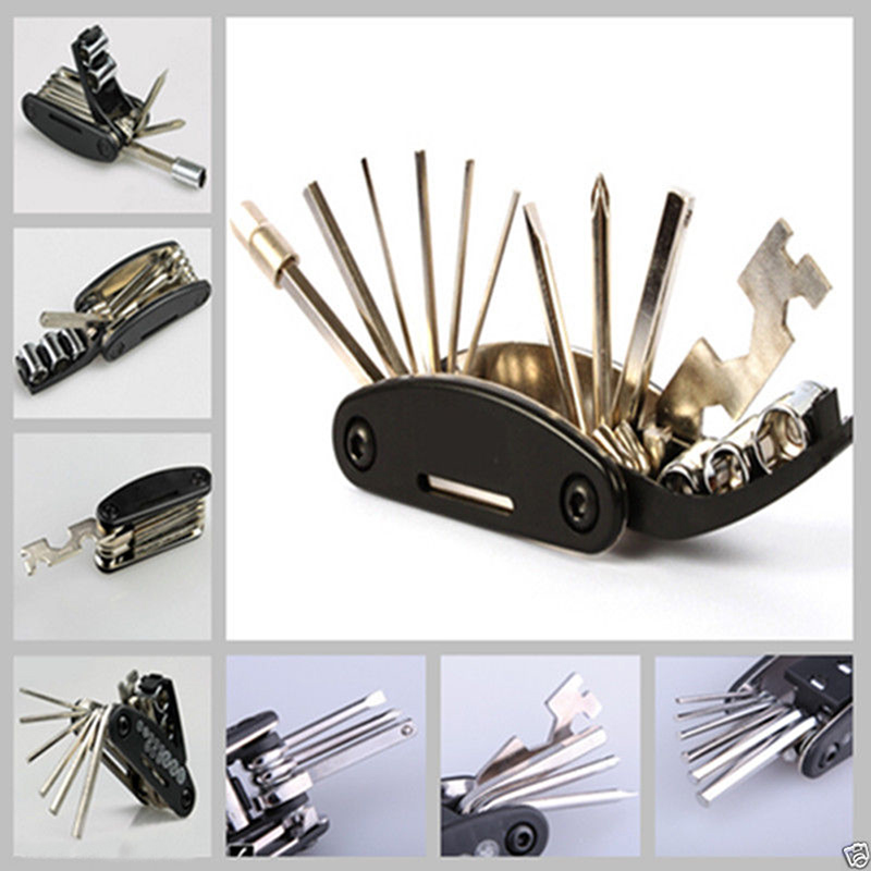 motorcycle travel repair tool allen key multi hex wrench screwdriver set ebay. Black Bedroom Furniture Sets. Home Design Ideas