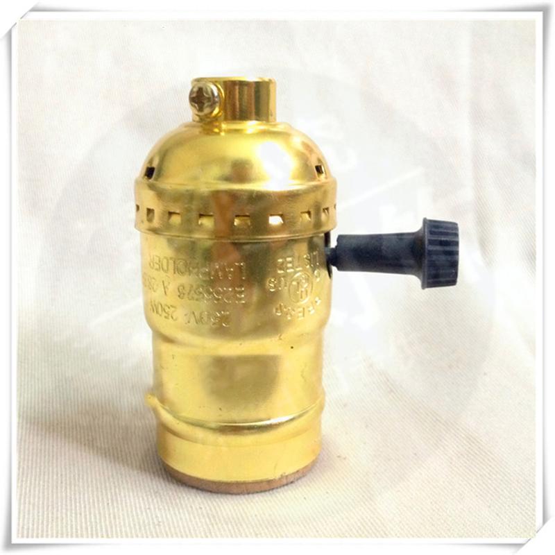 E26  E27 Edison Bulb Lamp Holder Pendant Light Socket