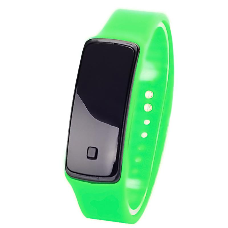 armbanduhr silikon uhr armband herren damen kinderuhr digital led watch silicone ebay. Black Bedroom Furniture Sets. Home Design Ideas