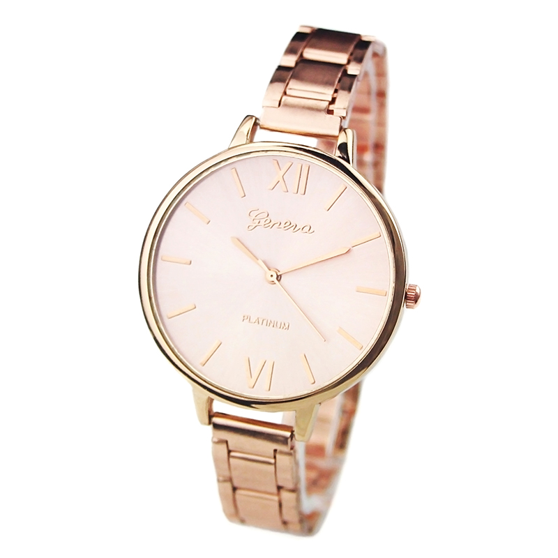 new fashion s stainless steel thin band analog