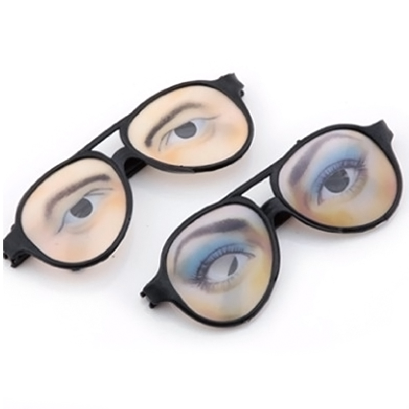 unisex eye glasses joke costume