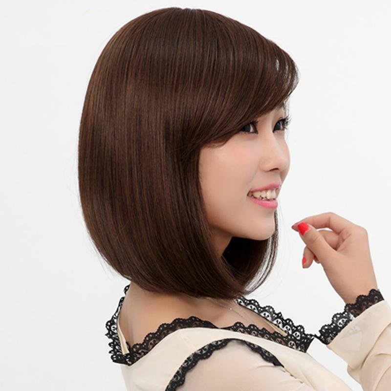 Girls Women Prom Party Cosplay Full Wigs Short BOBO Straight Wig Hair Beauty | eBay