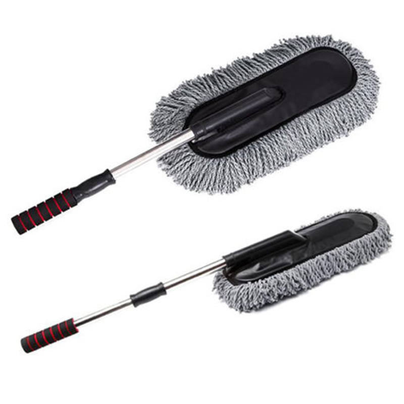 hot truck car wax brush washing mop dirt cleaning duster. Black Bedroom Furniture Sets. Home Design Ideas