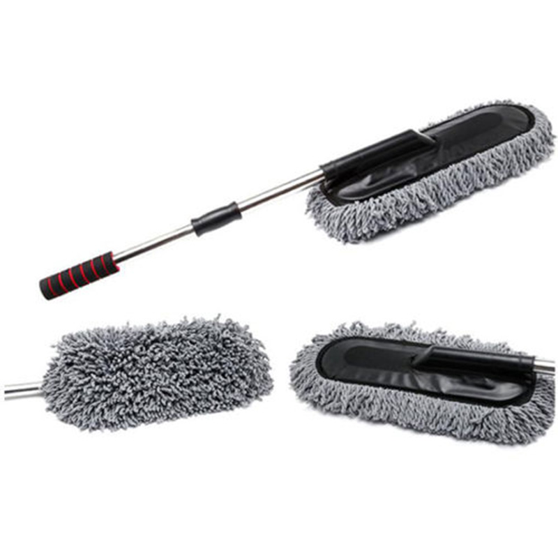 microfiber car wash cleaning brush duster dust wax mop telescoping dusting tool ebay. Black Bedroom Furniture Sets. Home Design Ideas