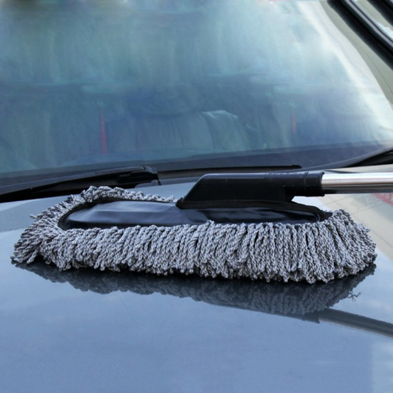 hot truck car wax brush washing mop dirt cleaning duster telescopic pole kit. Black Bedroom Furniture Sets. Home Design Ideas