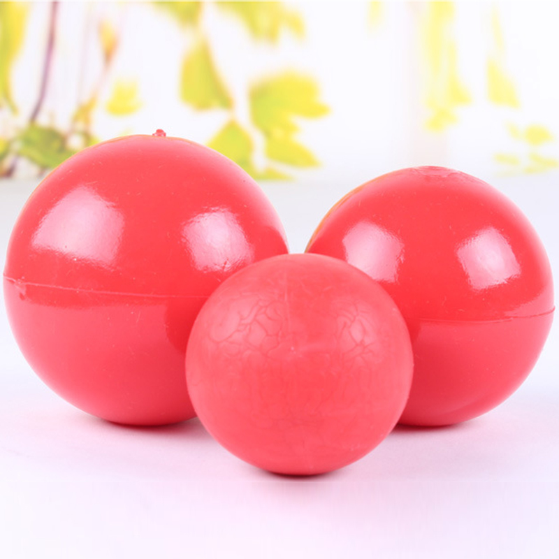 Red Ball Toy : Boomer red ball indestructible solid dog toy various size