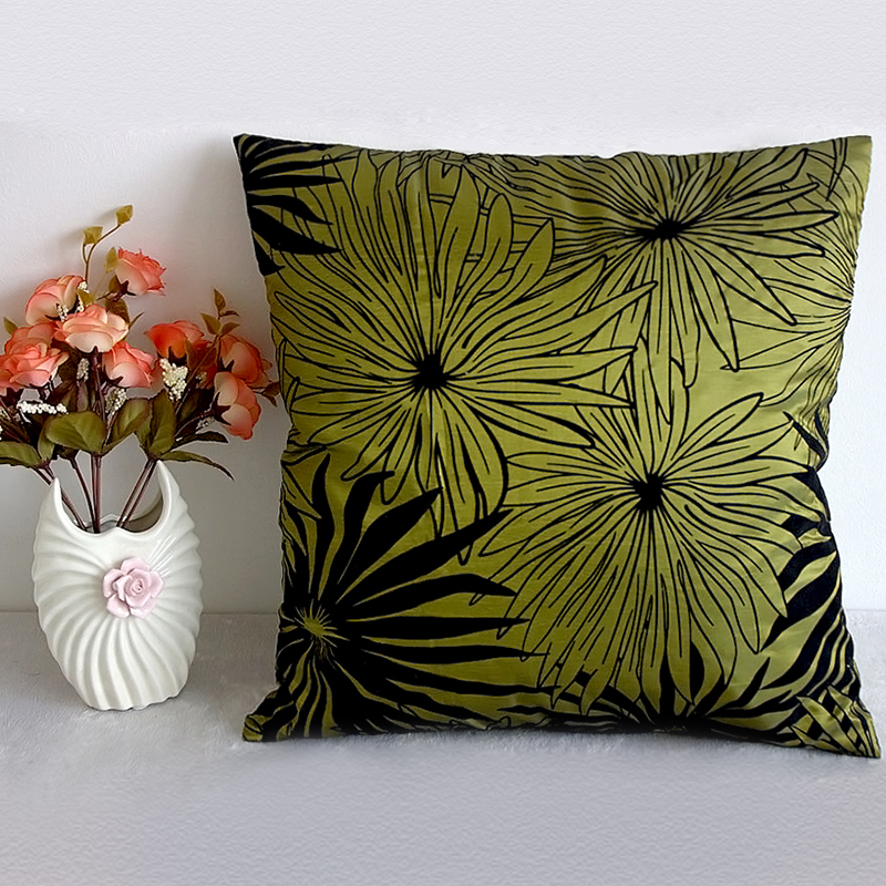 Bed Throw Pillow Placement : Vintage Flower Floral Bed Sofa Throw Pillow Cases Car Cushion Cover Home Decor eBay