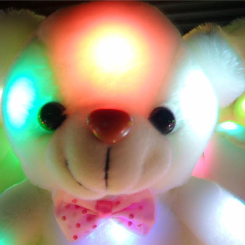 Kuschel teddy nachtlicht plüsch schlaflicht bär kinder