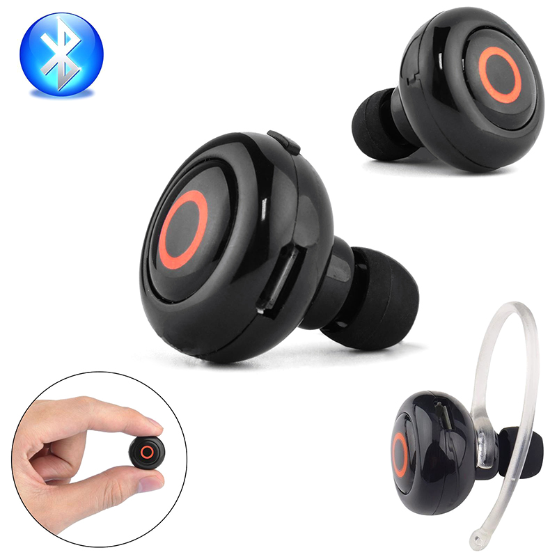 mini wireless stereo bluetooth headset kopfh rer ohrb gel. Black Bedroom Furniture Sets. Home Design Ideas