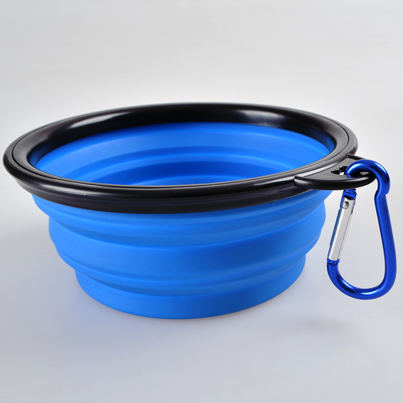 Portable Foldable Collapsible Pet Cat Dog Food Water