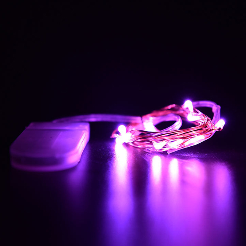 Starlight Led String Lights 10 Copper Wire : 1M 10 LED Battery Power LED Battery Operated Copper Wire Mini Fairy String Light eBay