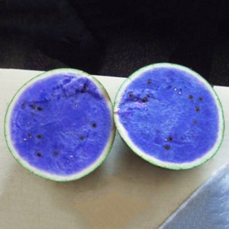 10Pcs Blue Watermelon Melon Seeds Vegetable Organic Home ...