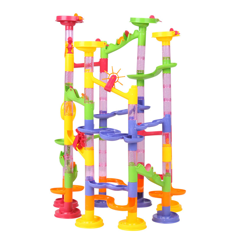 Marble Toys Blocks : Marble run race kid children boy building construction