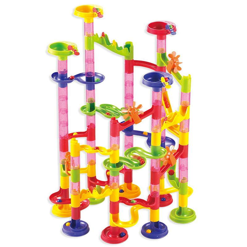 Marble Game Blocks : Marble run race children kid boys building construction
