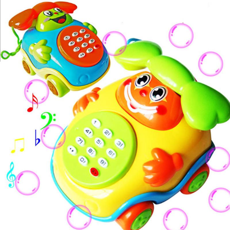 Babyspielzeug musik cartoon telefon bildungsentwicklungs