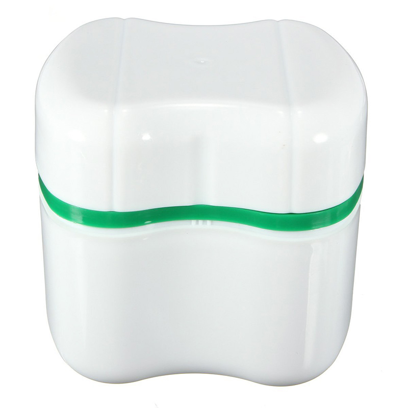 Denture bath appliance false teeth box storage case for Bathroom containers