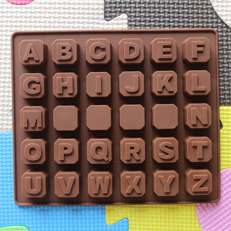 how to make chocolate letter molds