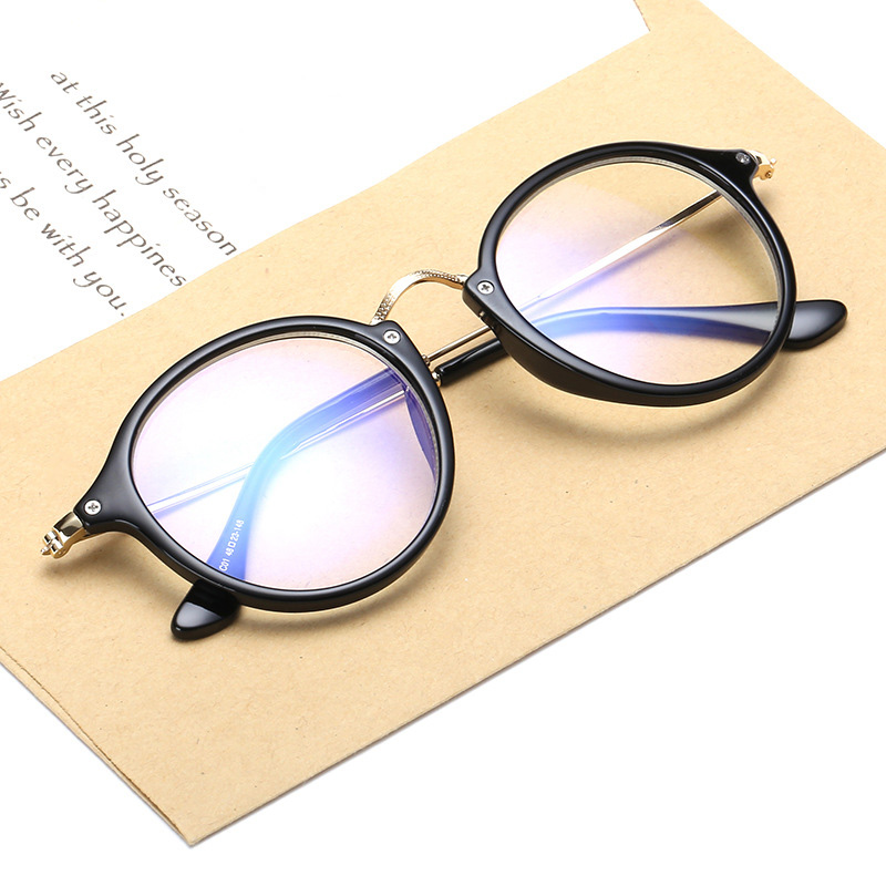 Fashion Unisex Vintage Clear Lens Eyeglasses Frame Retro ...