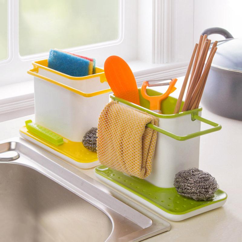 Kitchen Sink Storage: New Plastic Racks Organizer Caddy Storage Kitchen Sink