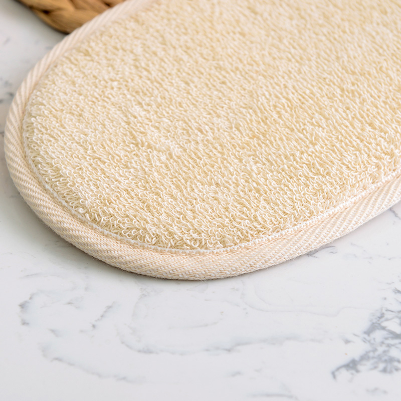 1pcs Natural Luffa Loofah Pad Body Skin Clean Scrubber