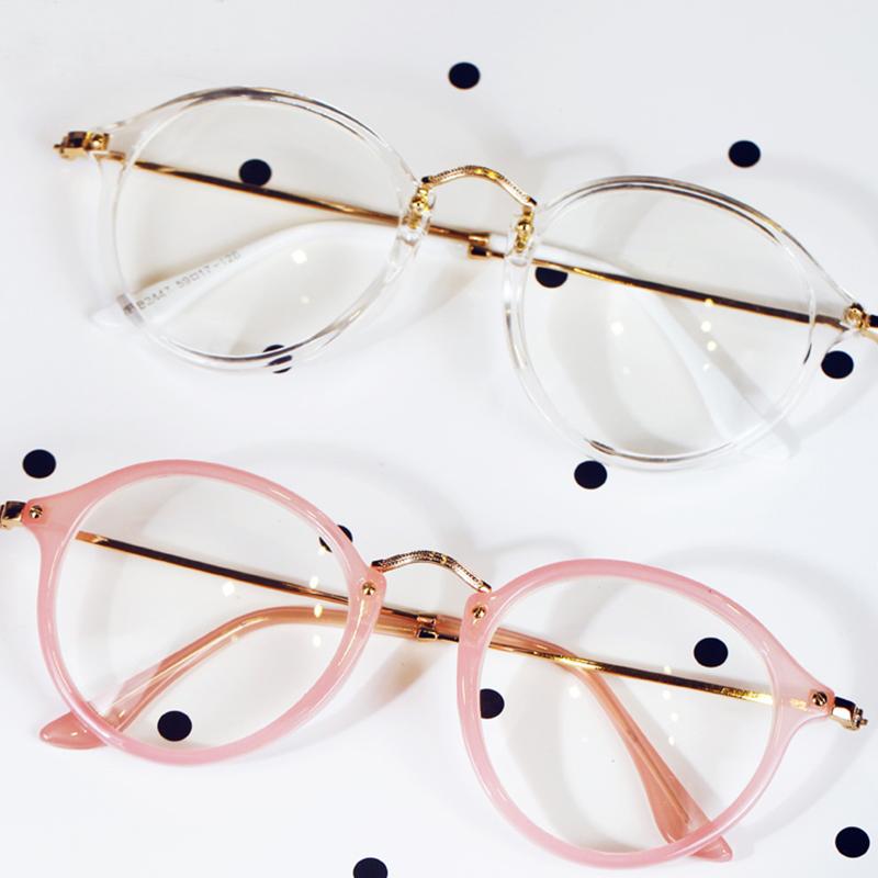 new style frames eyeglasses  clear lens eye
