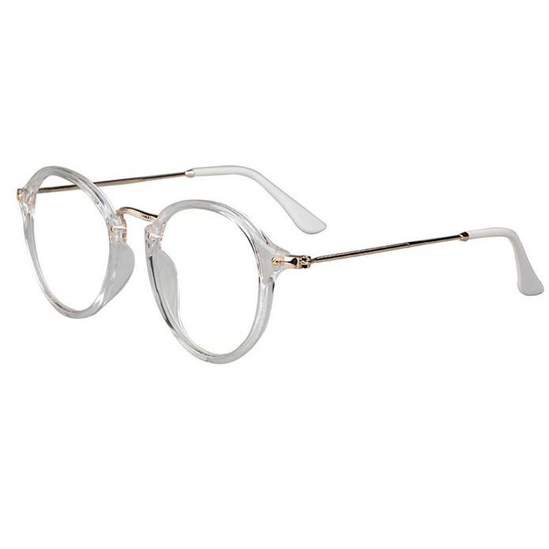 retro glasses  retro large metal frame