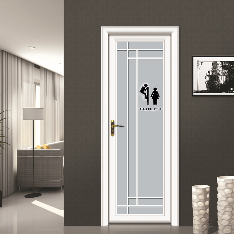 new toilet bathroom funny removable wall sticker art vinyl On removable walls and doors