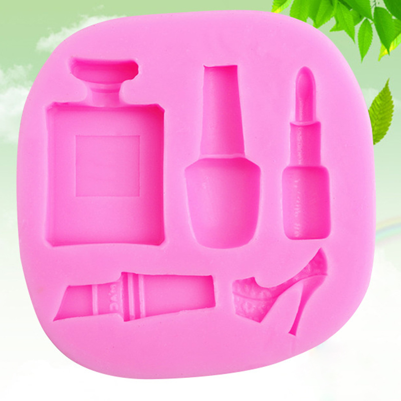Cake Decorating Silicone Molds Uk : Silicone Lipstick Make-up Cake Mould Chocolate Sugarcraft ...