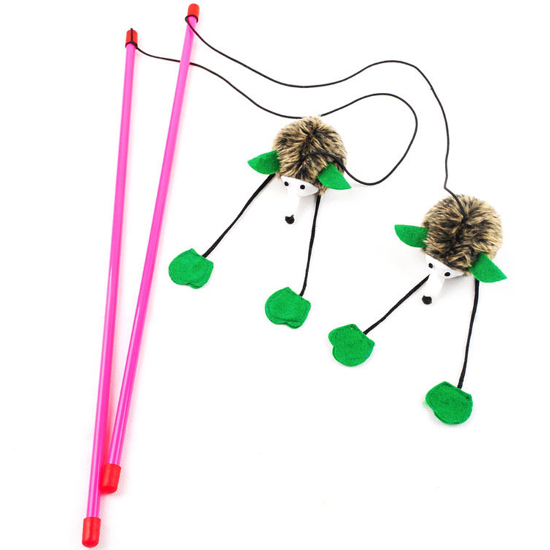 Cat Toy With Feathers And Sound