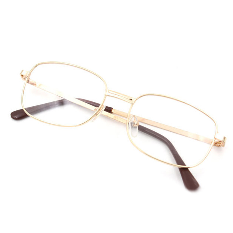Gold Frame Reading Glasses : Women Men Reading Glasses Lens Rimmed Gold Frame ...