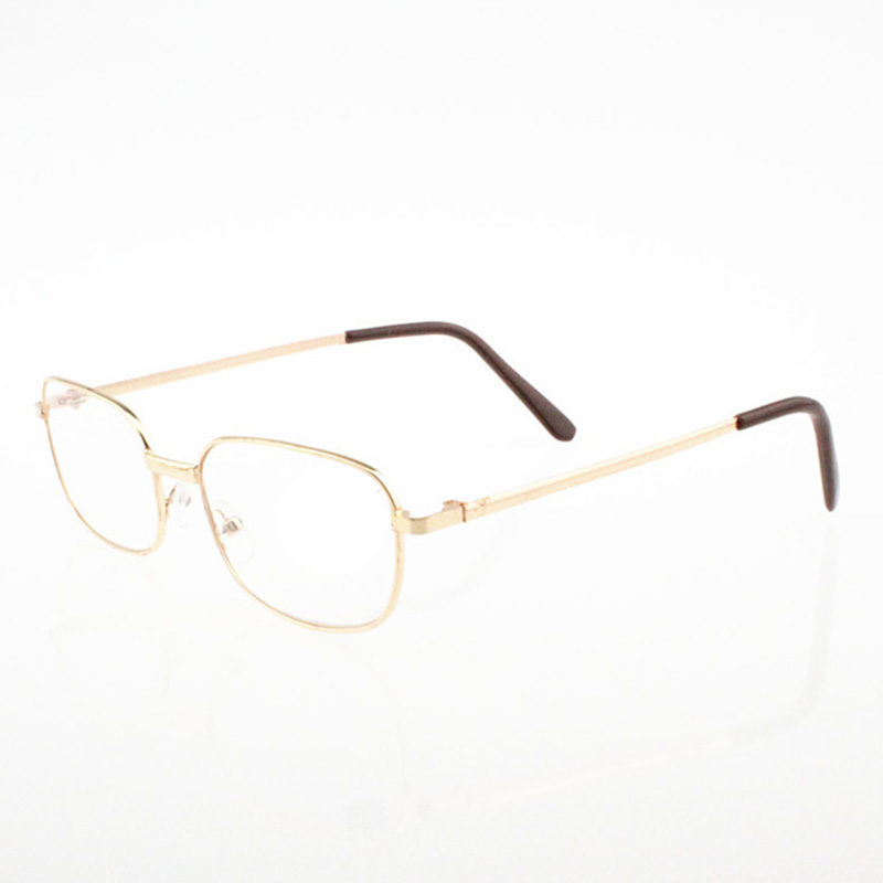 Gold Frame Reading Glasses : Reading Glasses Lens Rimmed Gold Frame Metal Eyeglasses +1 ...