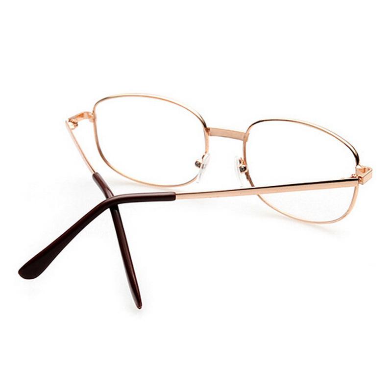 fashion lens rimmed s reading glasses gold metal frame