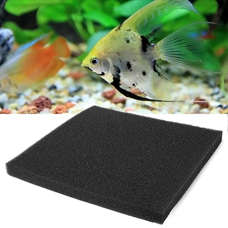 50 50 2cm biochemical filter foam pond filtration fish for Foam in koi pond