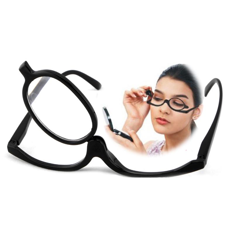 makeup magnifying reading glasses flip make up