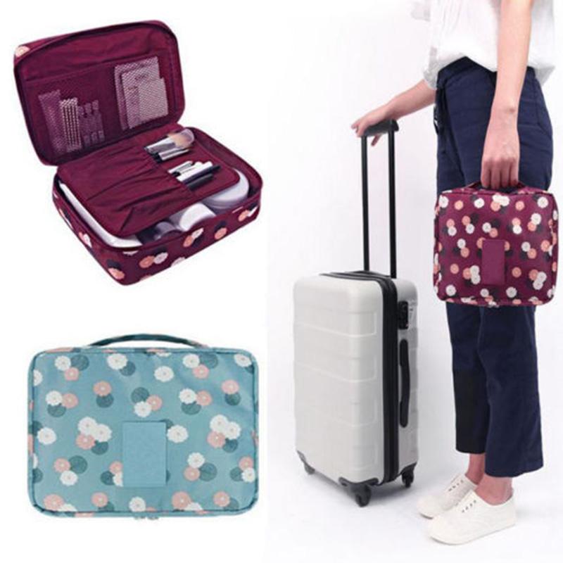 portable voyage sac cosm tique pochette sous v tements bagagerie organisateur. Black Bedroom Furniture Sets. Home Design Ideas