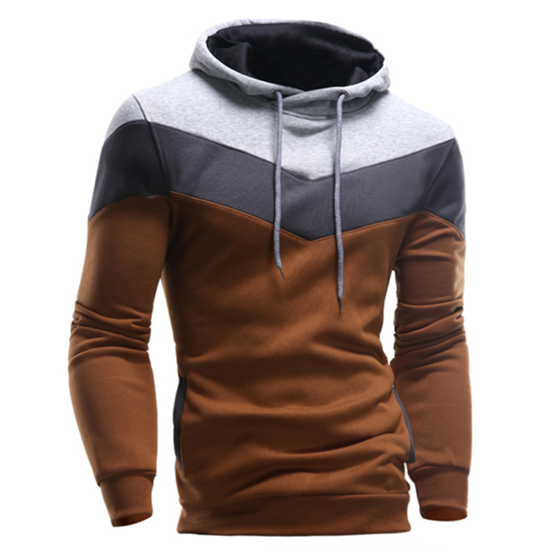 Mens Brown Hoodie - Baggage Clothing