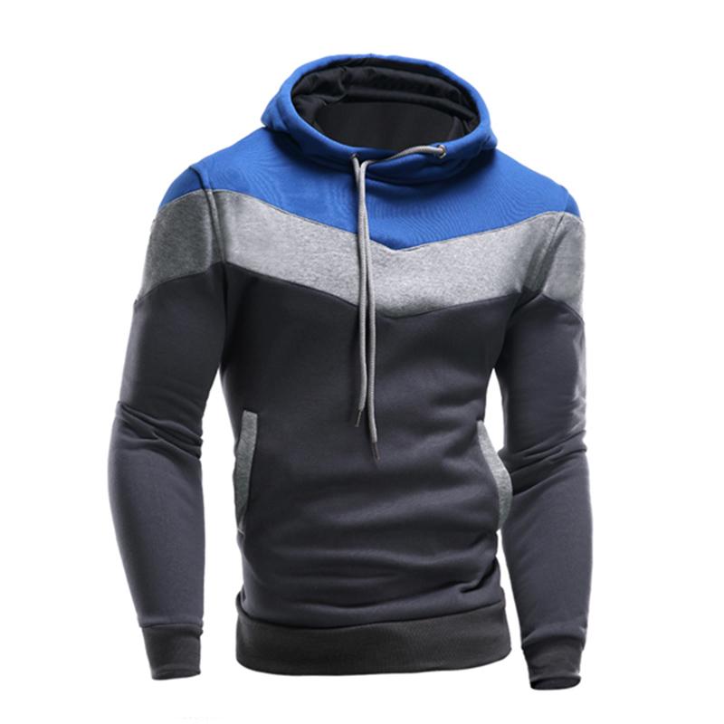 Men's Winter Hoodie Warm Hooded Sweatshirt Coat Jacket ...