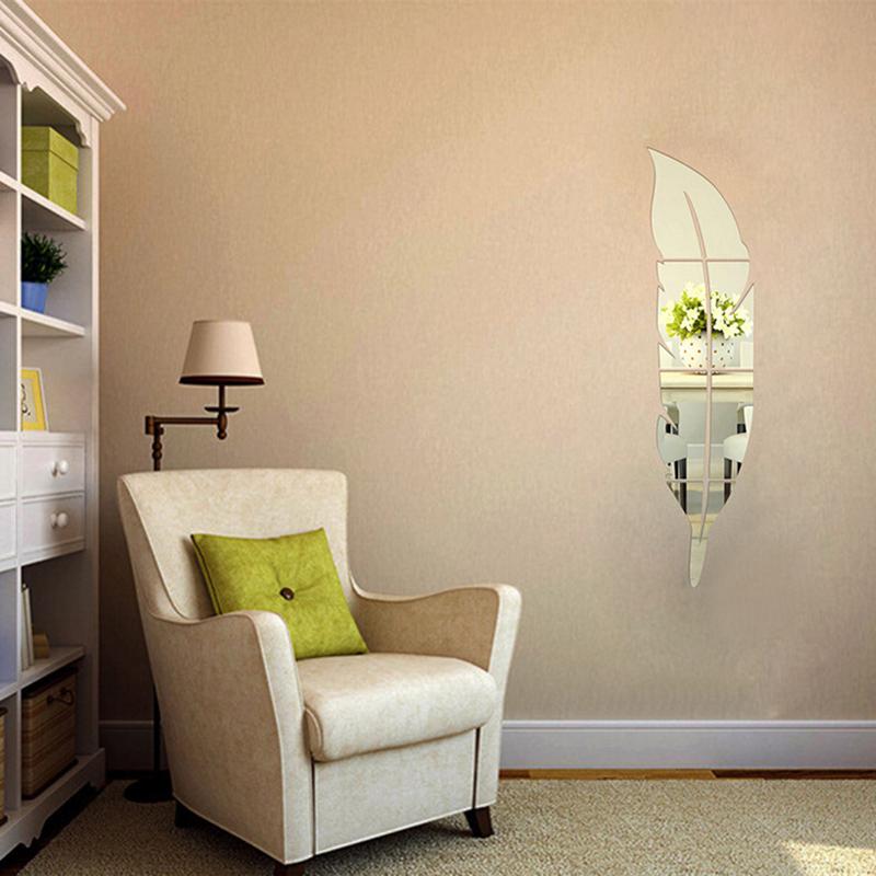 mirror wall stickers for children 39 s room living room mirror uk ebay