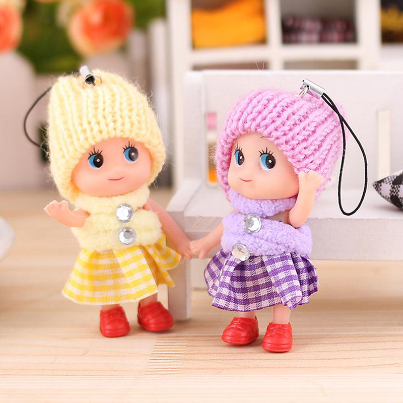 Small Toy Dolls : Kids toys soft interactive baby dolls toy cute mini doll