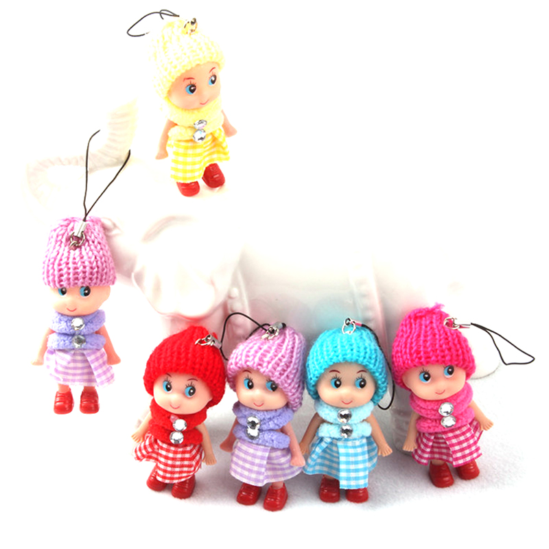 kids toys soft interactive baby dolls toy mini doll mobile phone accessory new ebay. Black Bedroom Furniture Sets. Home Design Ideas