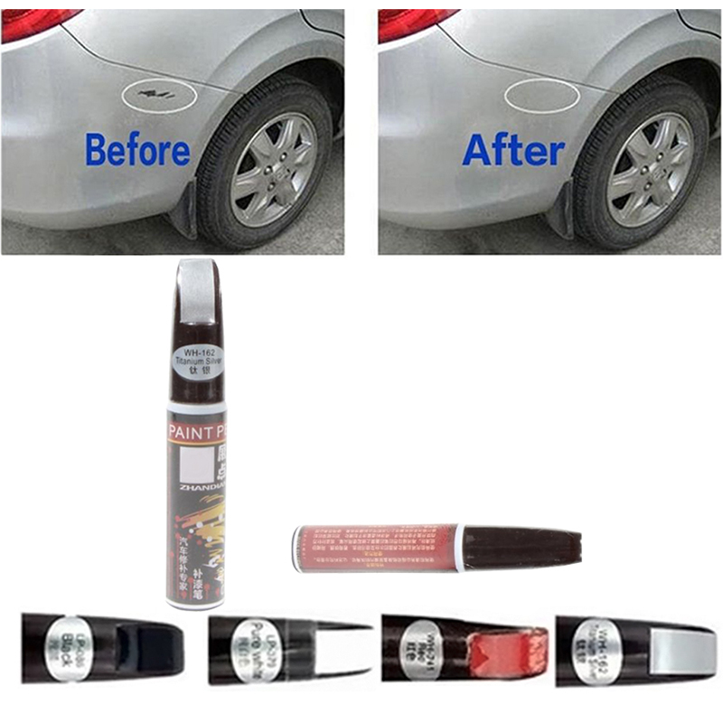 Pro Black Auto Car Scratch Touch Up Repair Paint Pen Fixing Scratching Remover Ebay