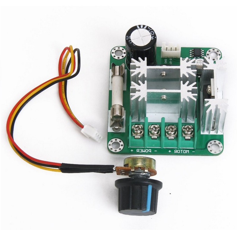 Dc 6v 90v 15a Dc Motor Speed Control Pwm Switch Controller